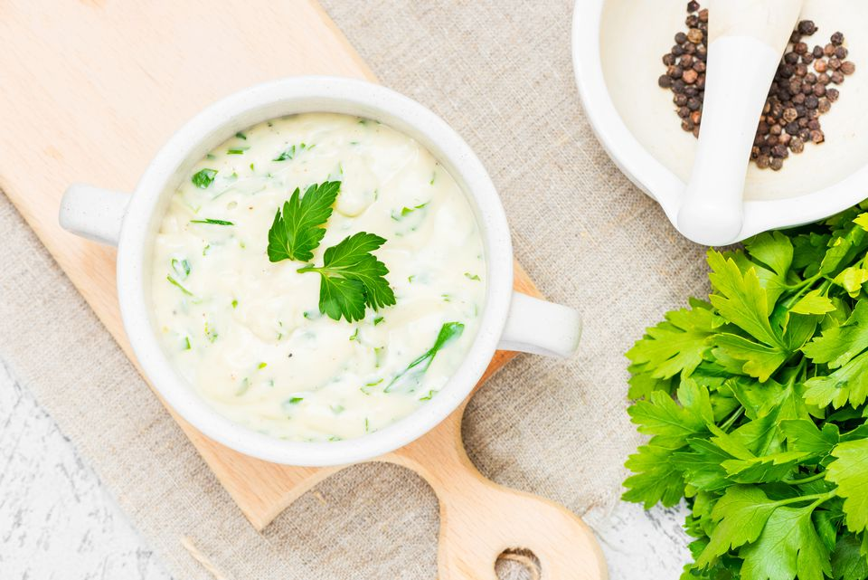 English Parsley Sauce Recipe