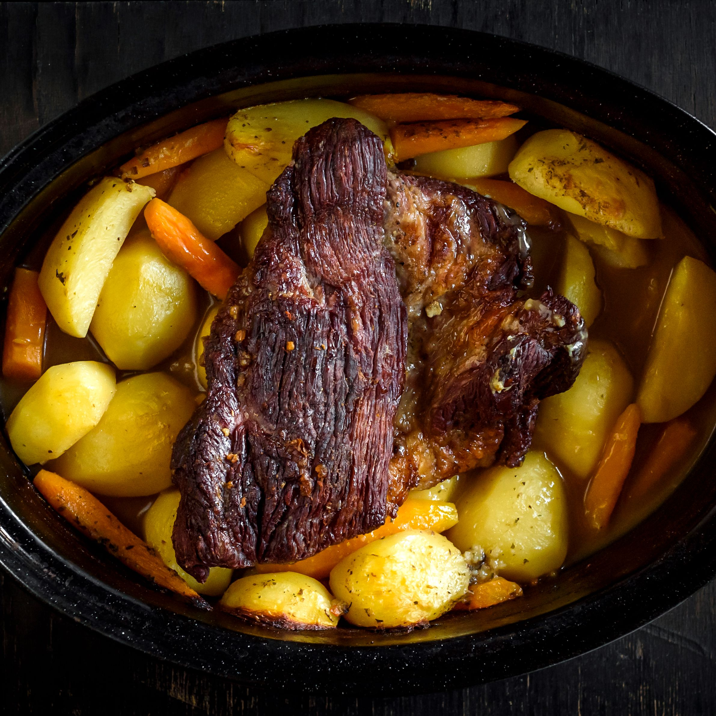 Crock Pot Roast With Onion Soup Mix Recipe