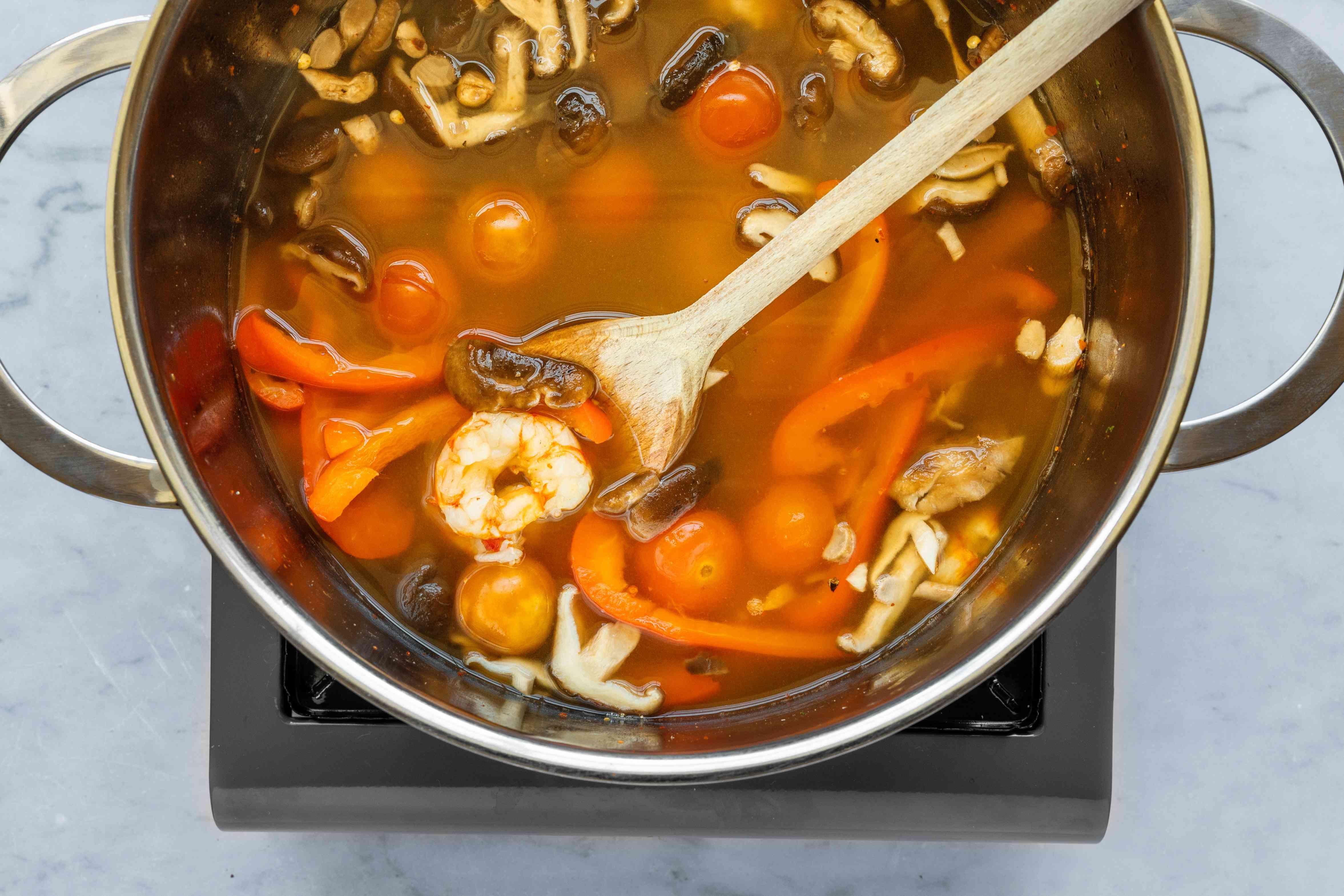 Add shrimp