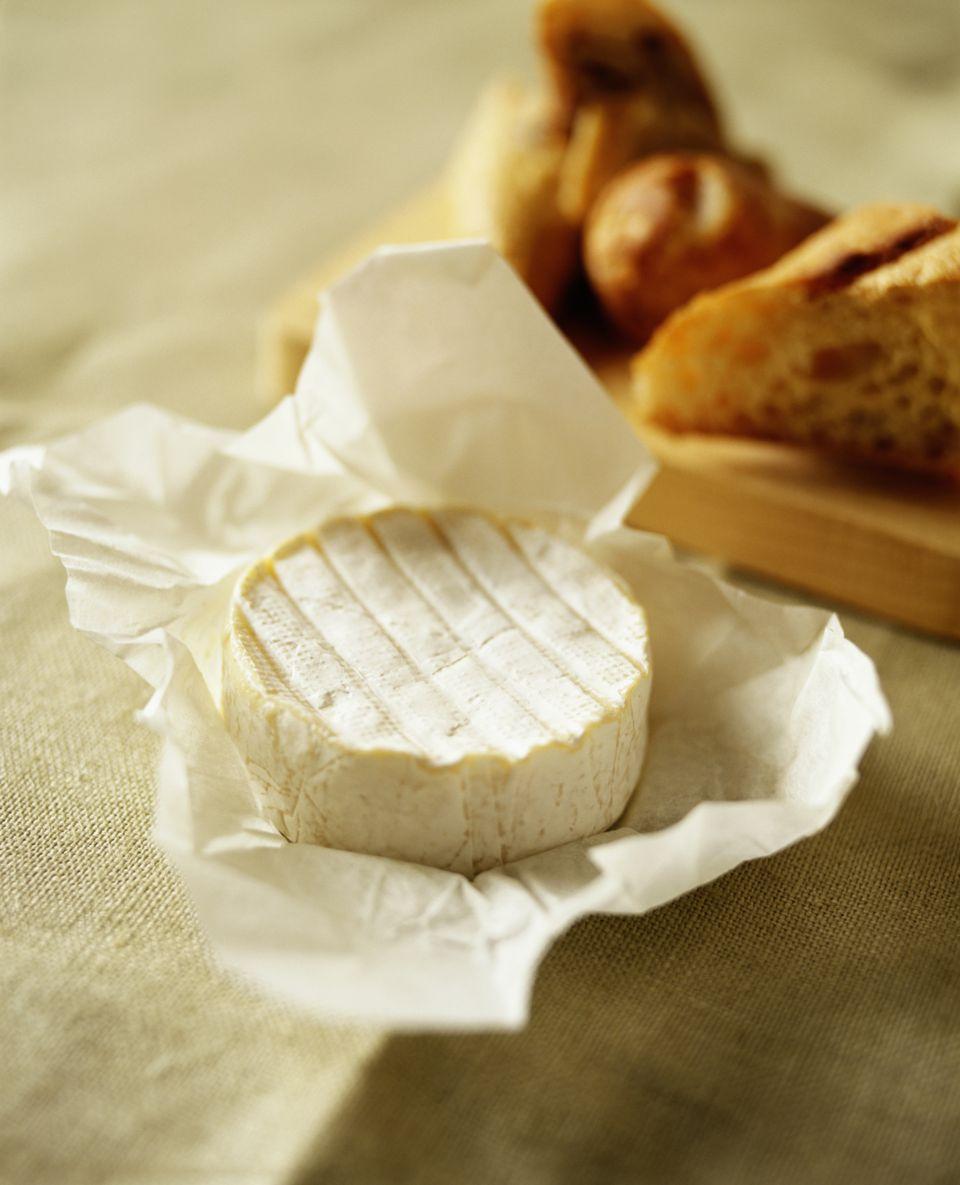 Brie al horno con Amaretto
