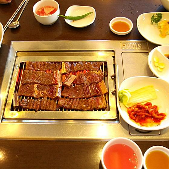Bulgalbi - Beef Ribs on SWAS grill