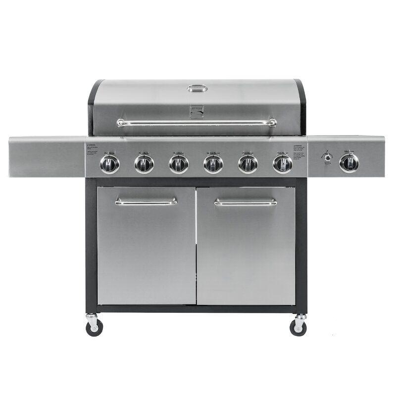 kenmore-6-burner-propane-grill-side-burner
