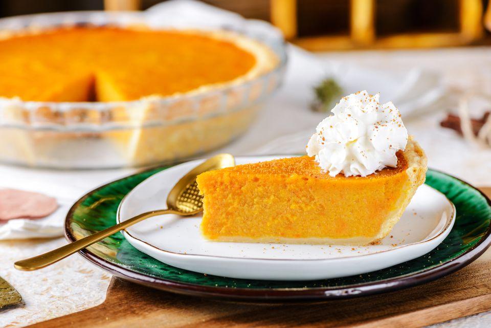 Pastel de calabaza de otoño