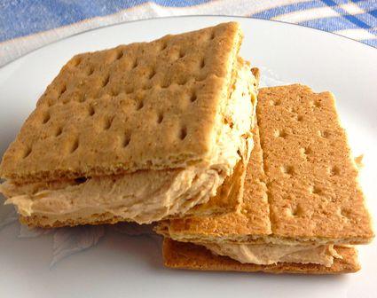 Graham cracker sandwiches