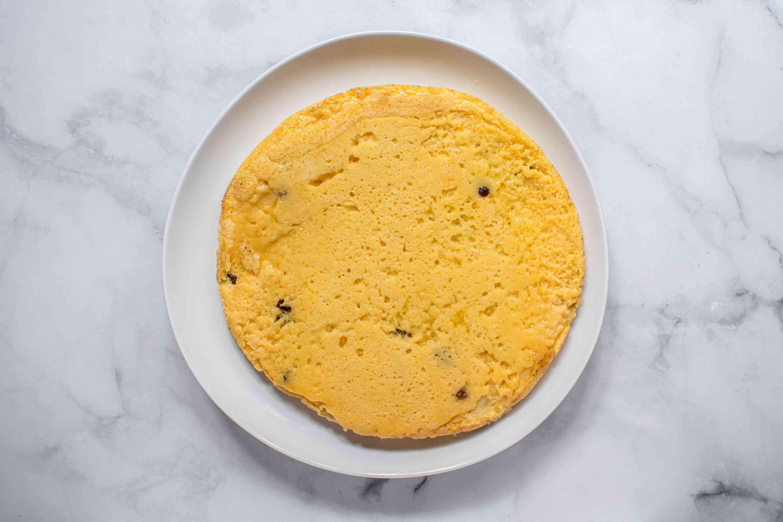 Austrian pancake on a plate