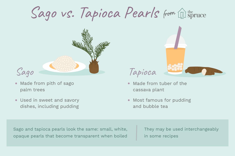 Is Sago the Same as Tapioca Pearl?