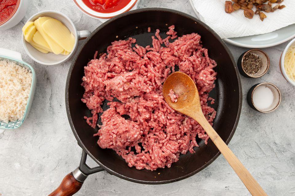 Add ground beef
