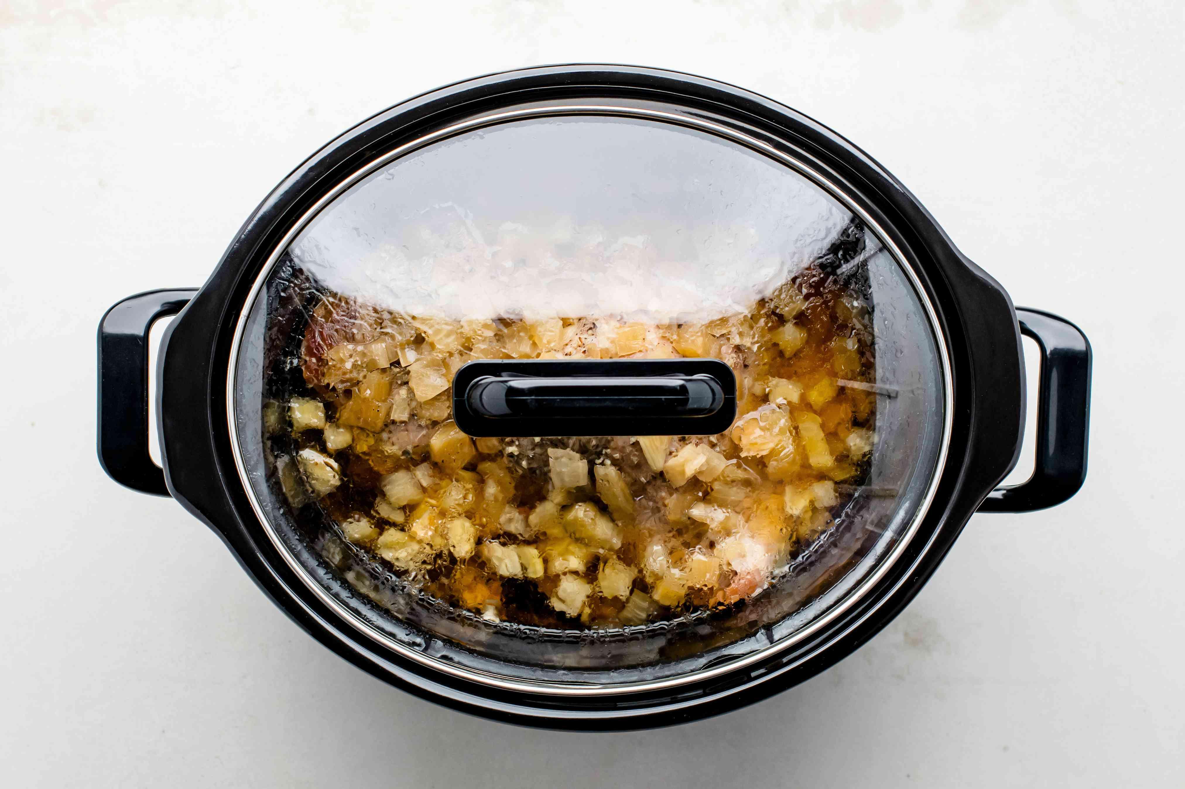 Pork in crock pot