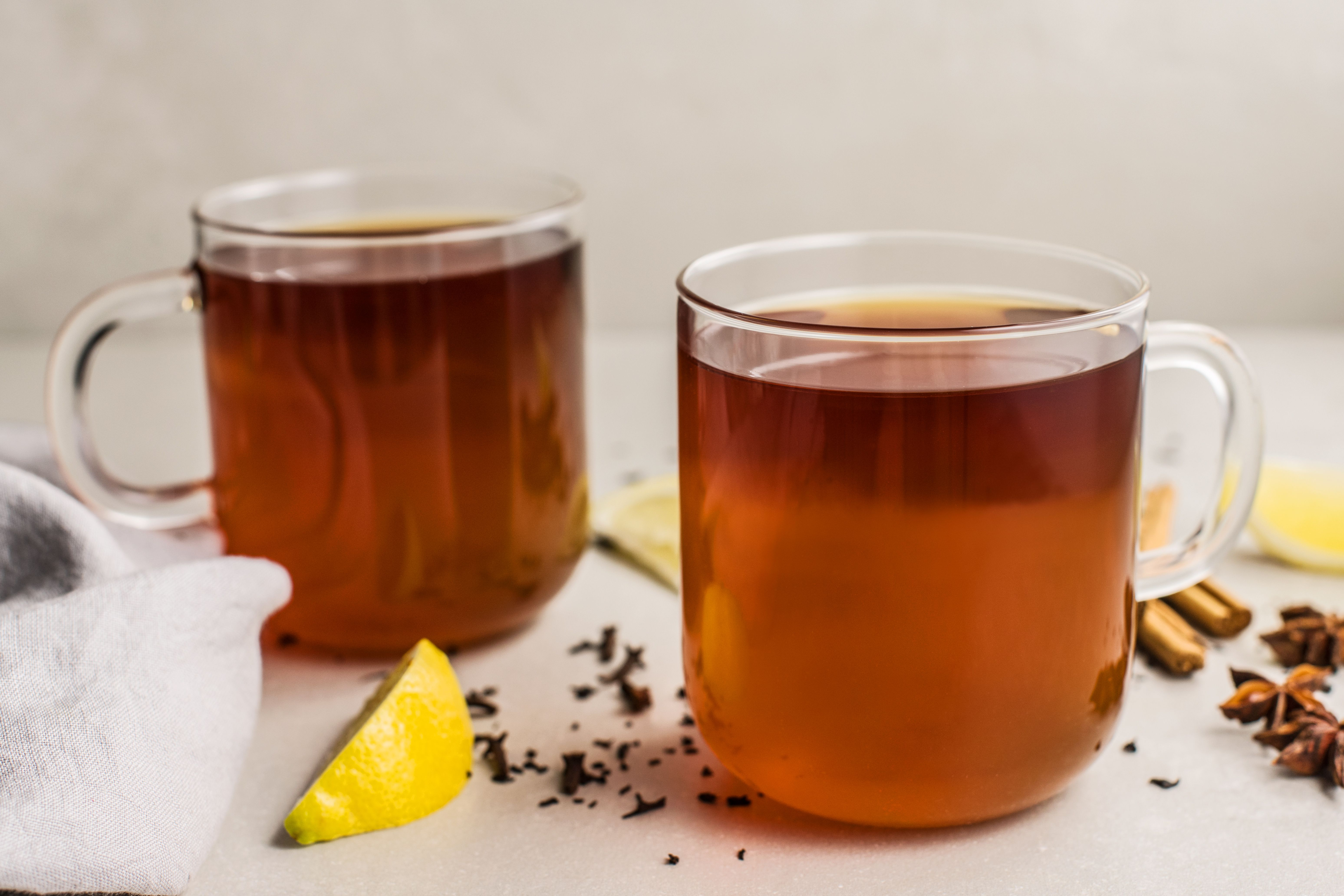 Black tea hot toddy