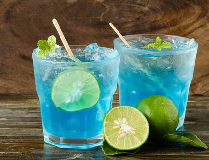 Blue Lagoon Punch