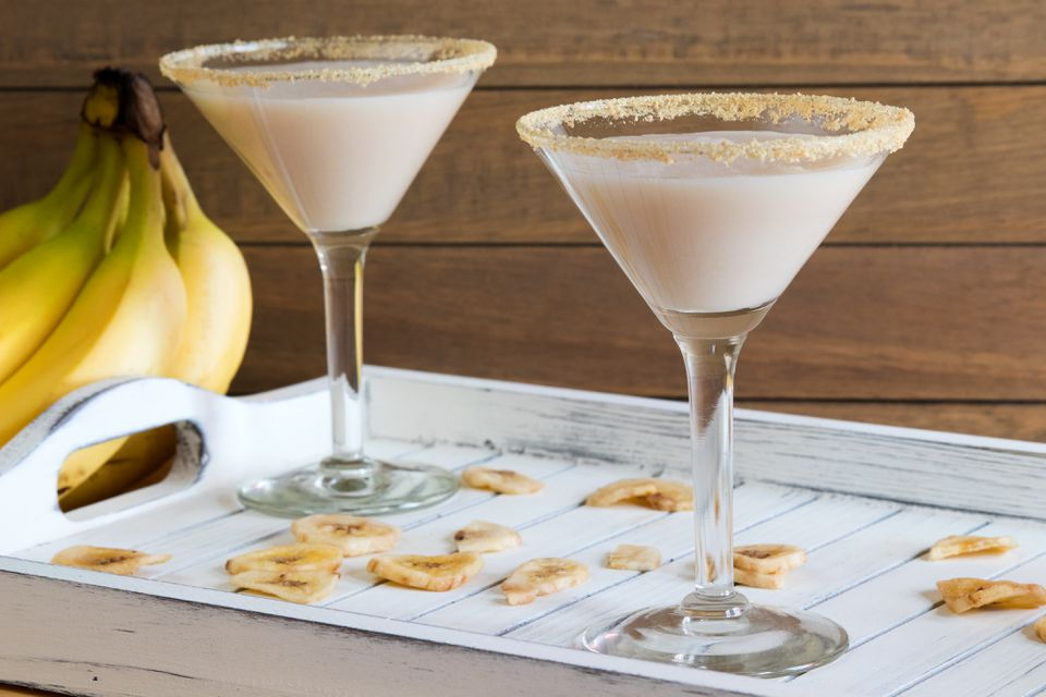 Banana Cream Pie Cocktail With RumChata