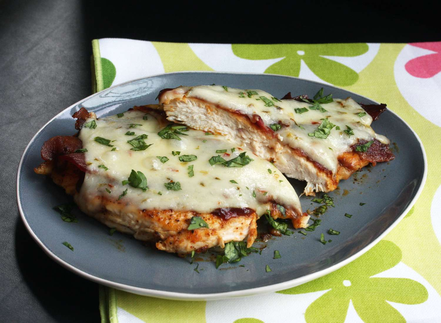 Chicken with Bacon and Cheese