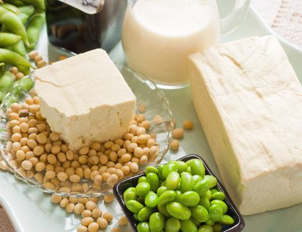 Soybeans and soybean products