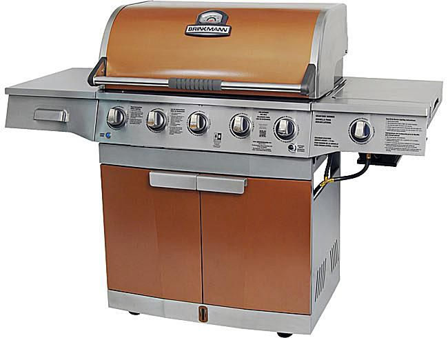 Brinkmann Medallion 5-Burner Model# 810-4580-SB