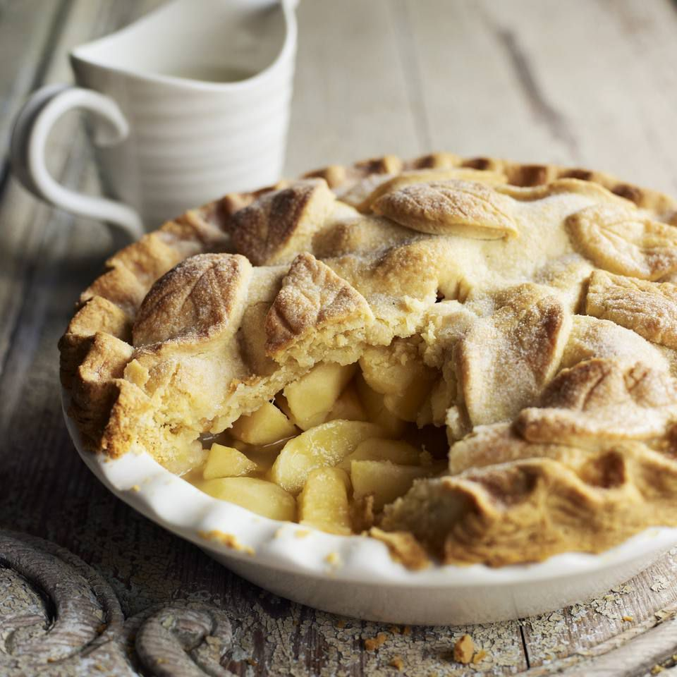 Apple Pie With Double Crust