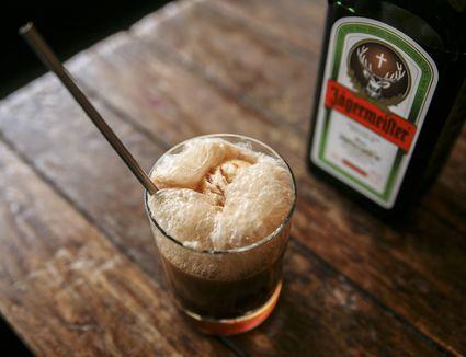 Jagermeister's The Inside Scoop Root Beer Float Cocktail