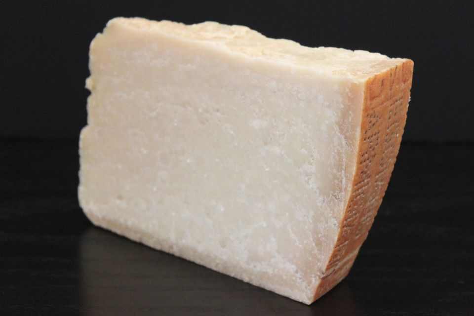 A block of Parmigiano-Reggiano