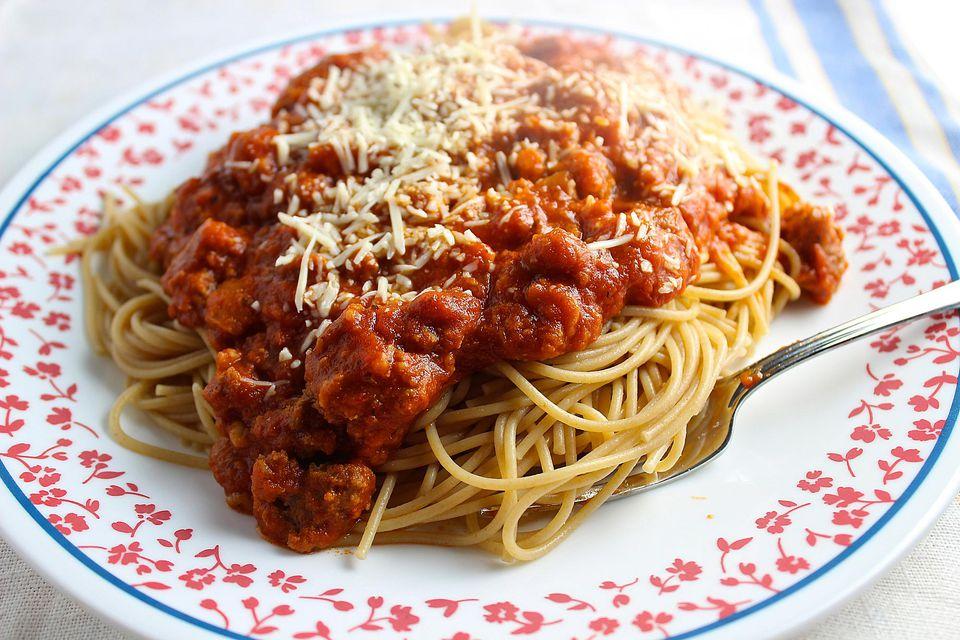 Meatloaf Spaghetti