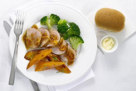 Roast Pork Loin With Apricot Sauce Recipe