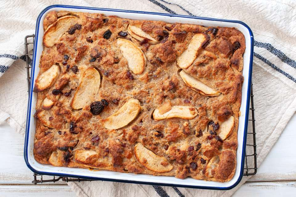 Apple cinnamon bread pudding recipe