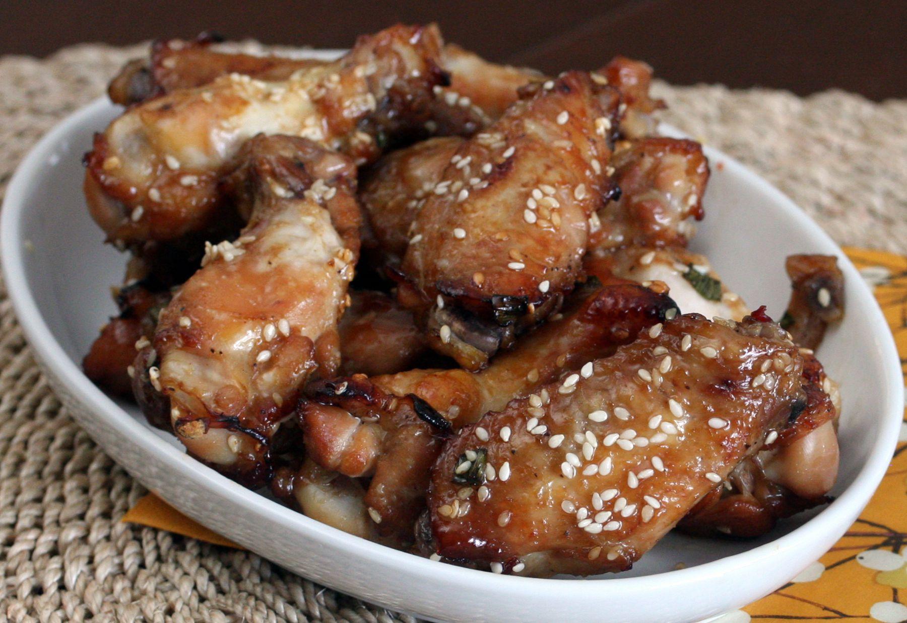 Sesame Chicken Wings