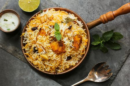 What is the Indian Dish Biryani?