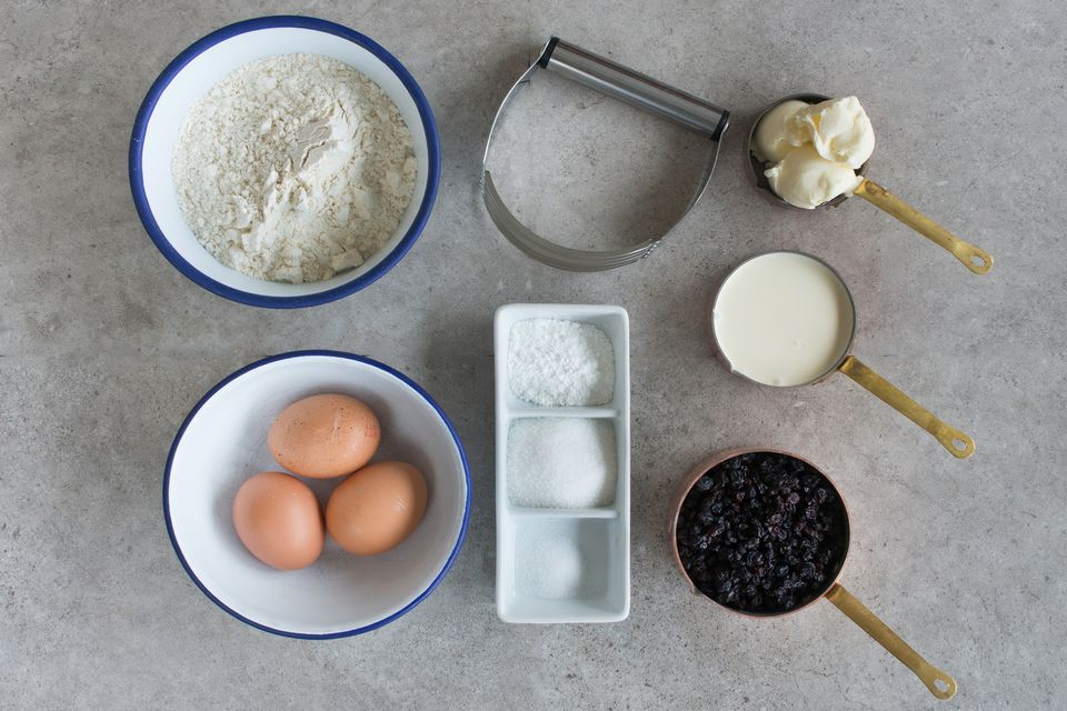 Scone ingredients