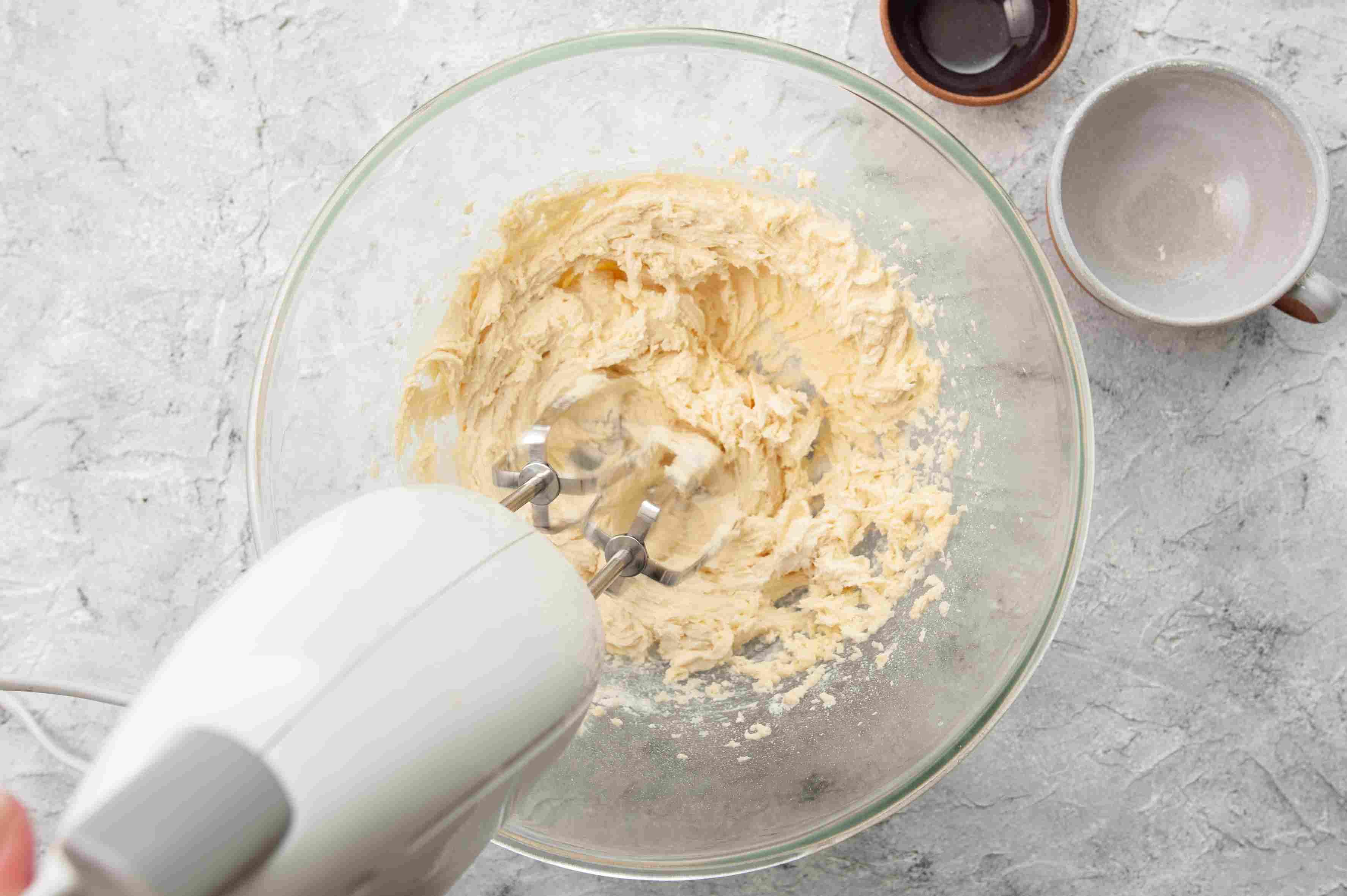 Add flour and salt