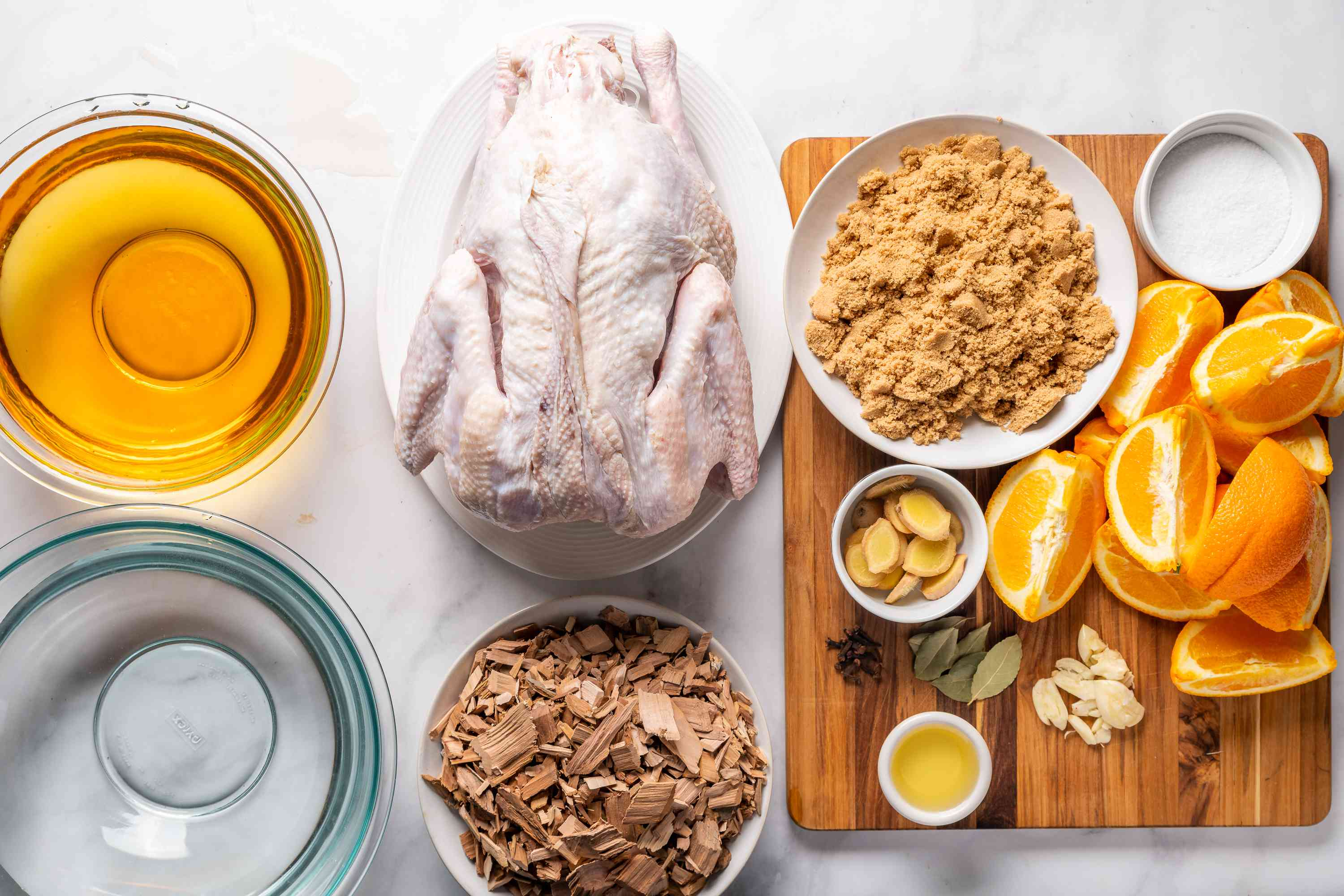 Smoke a Turkey on the Grill ingredients