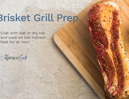 Brisket Grill Prep