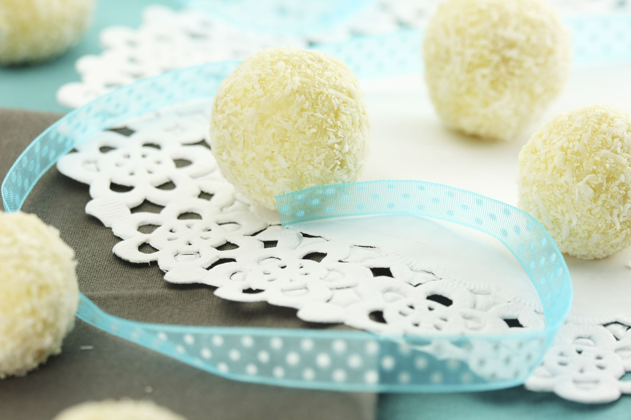 Lime Coconut Truffles