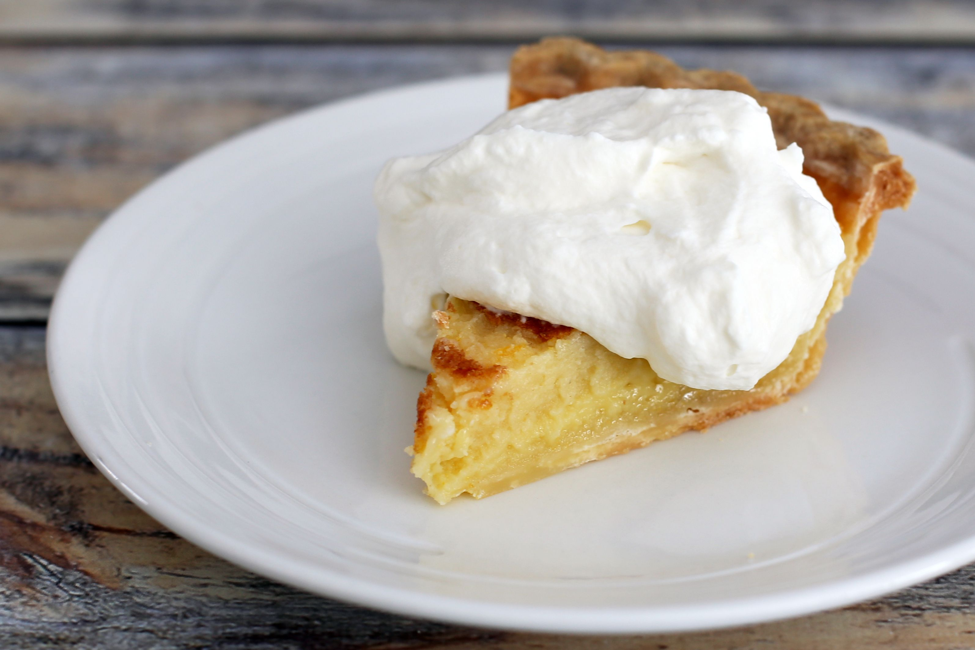 Southern Buttermilk Chess Pie Recipe