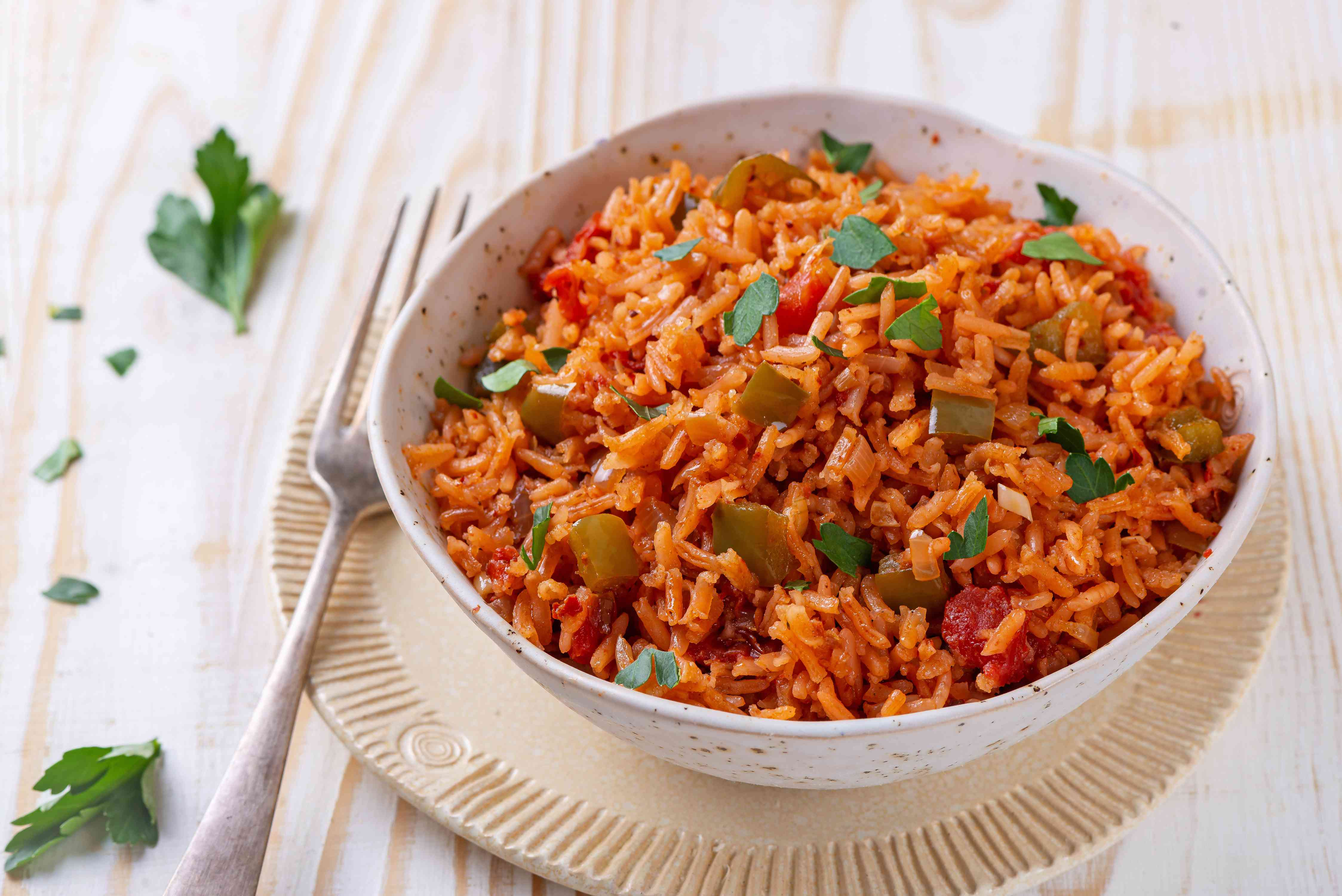 Mexican rice side of the border recipe