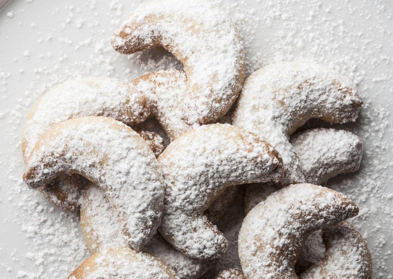 Monajean's Almond Crescents