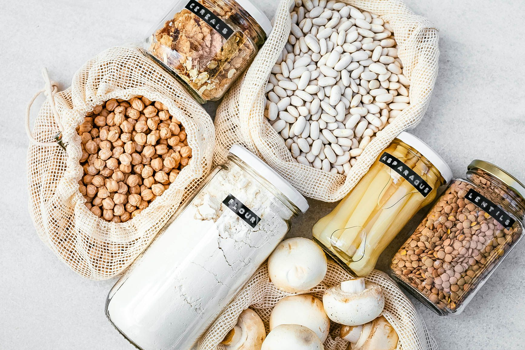 Pantry Staples: A Master List of Everything You Need