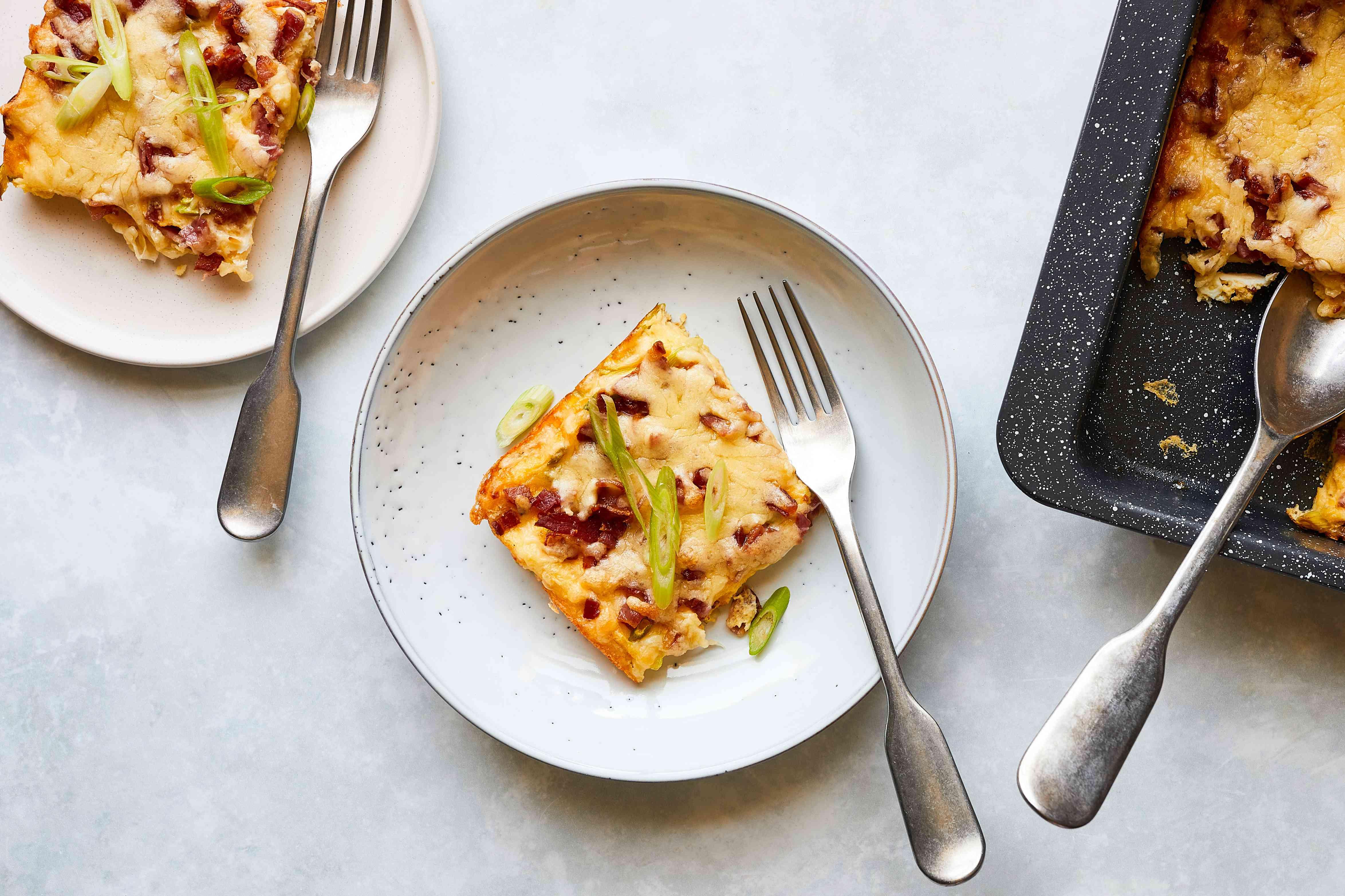 Make-Ahead Bacon and Egg Breakfast Casserole
