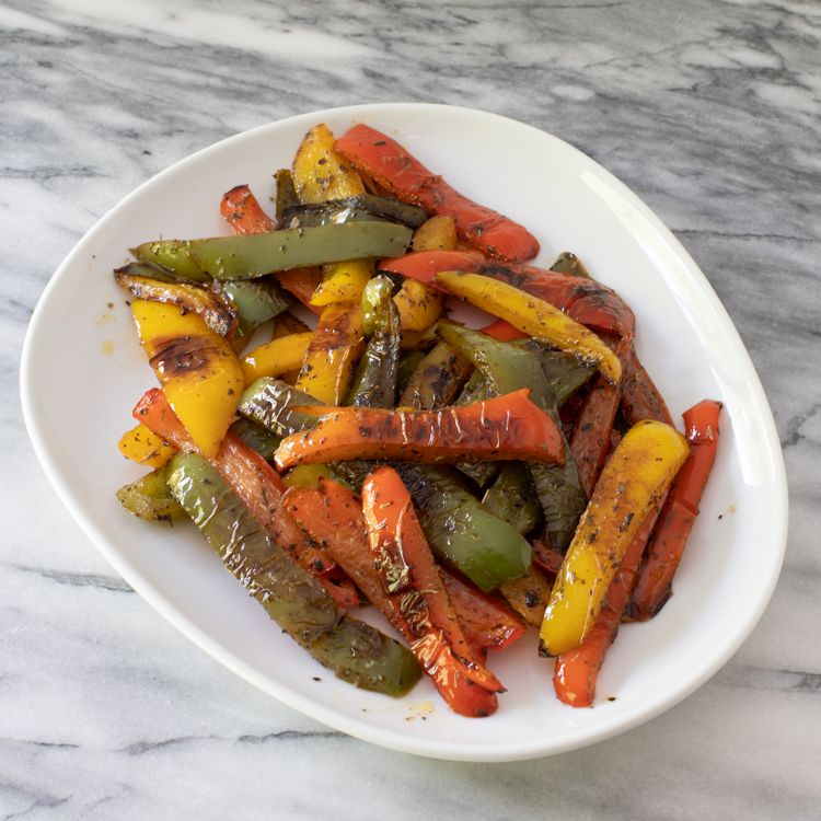 Pan-Roasted Peppers Tester Image