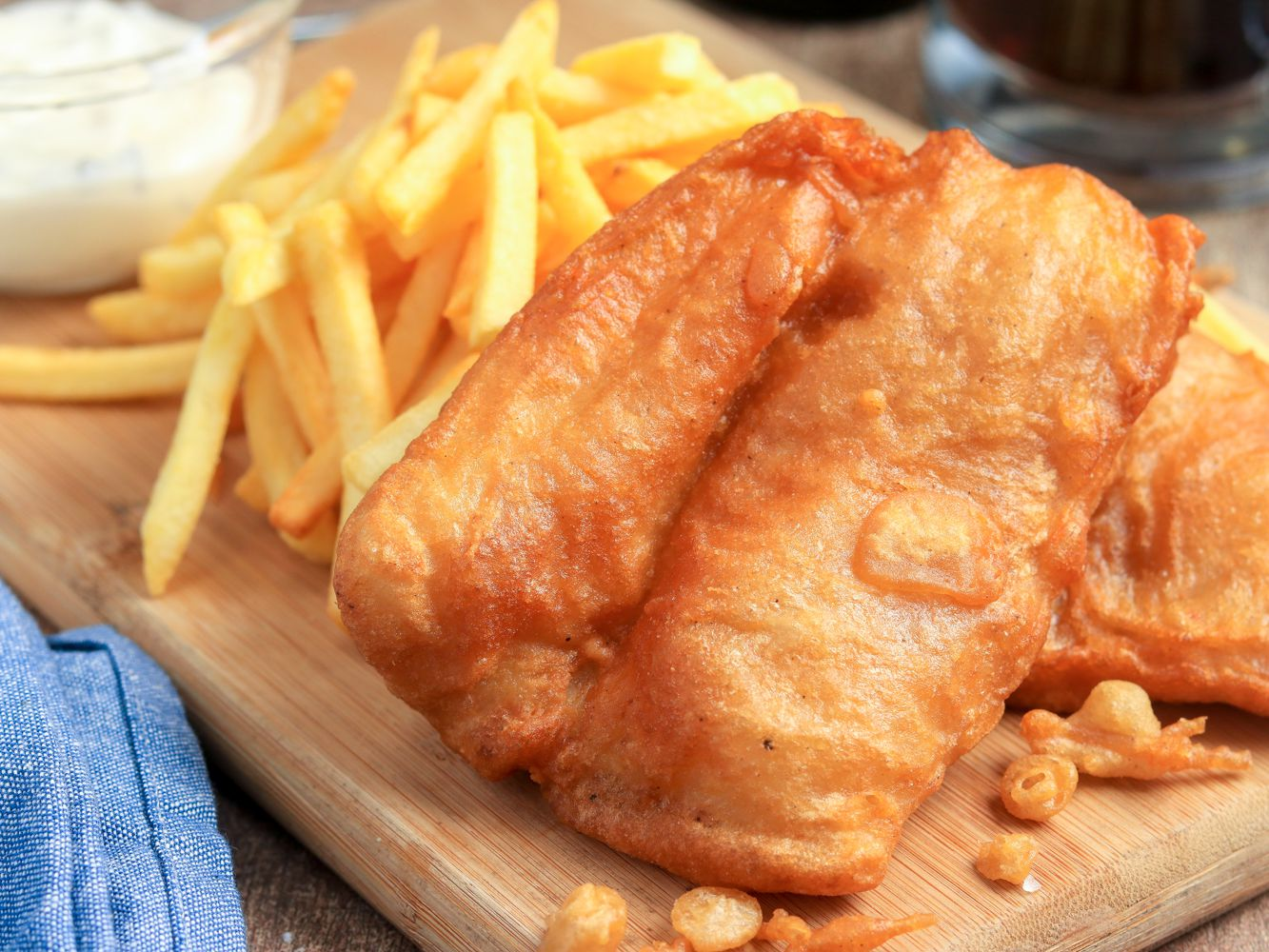 Classic British Fish And Chips Recipe