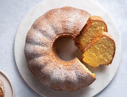 Moroccan Meskouta Orange Cake