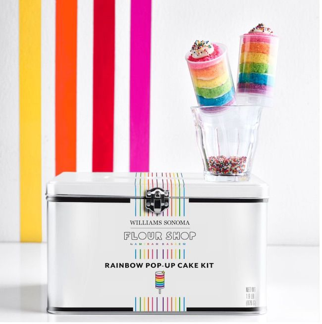 Flour Shop Rainbow Pop-Up Cake Kit