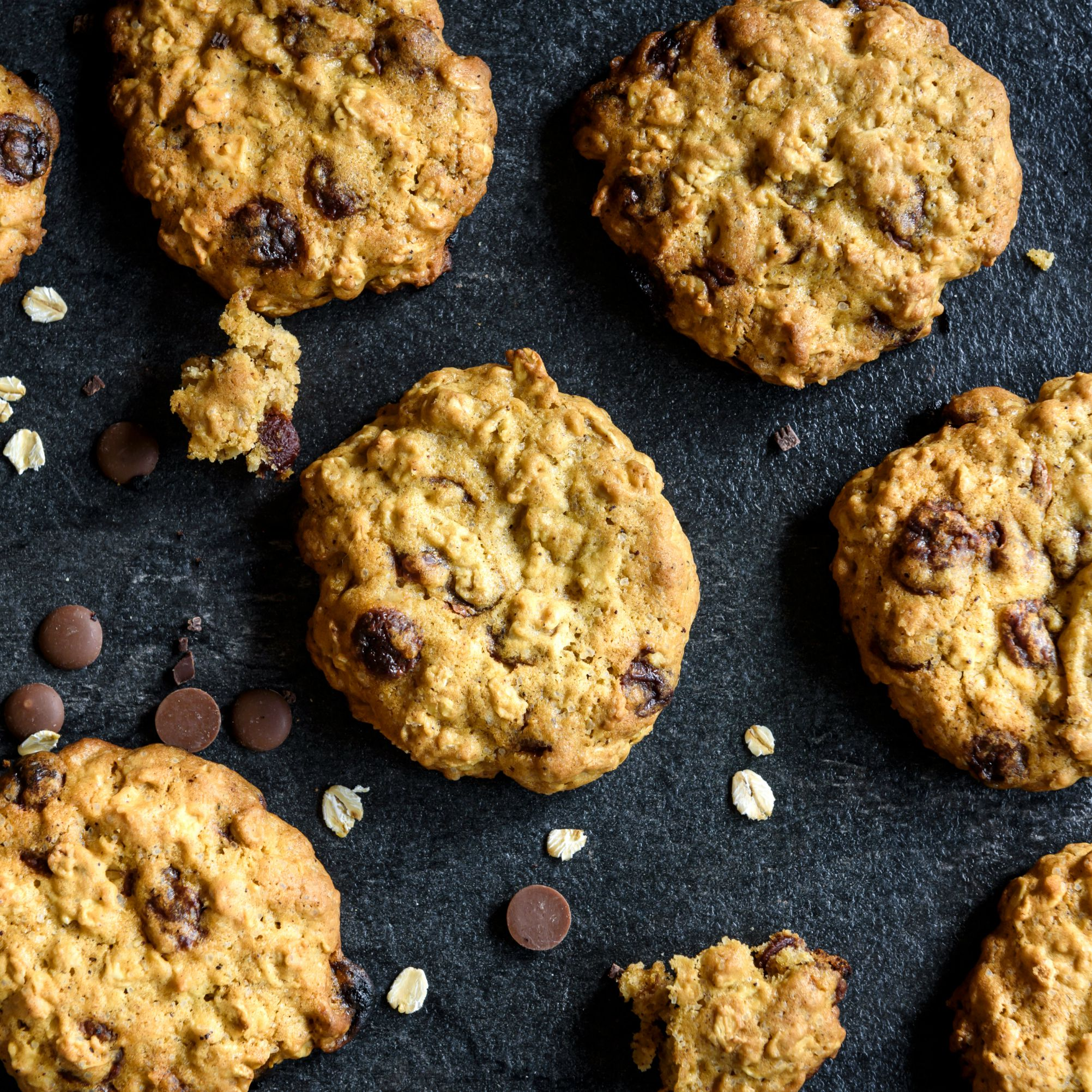 Low Calorie Chocolate Chip Oatmeal Cookies Recipe
