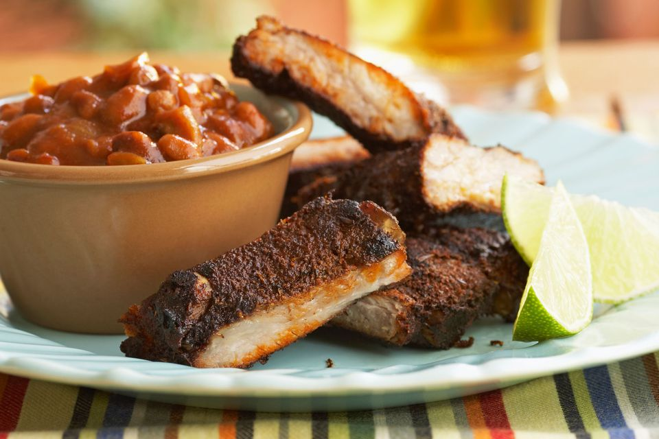 Beans with Ribs