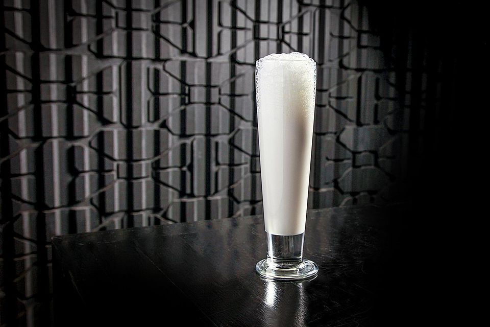 A unique cocktail, the Somrus Fizz is a great introduction to the Indian cream liqueur, Somrus