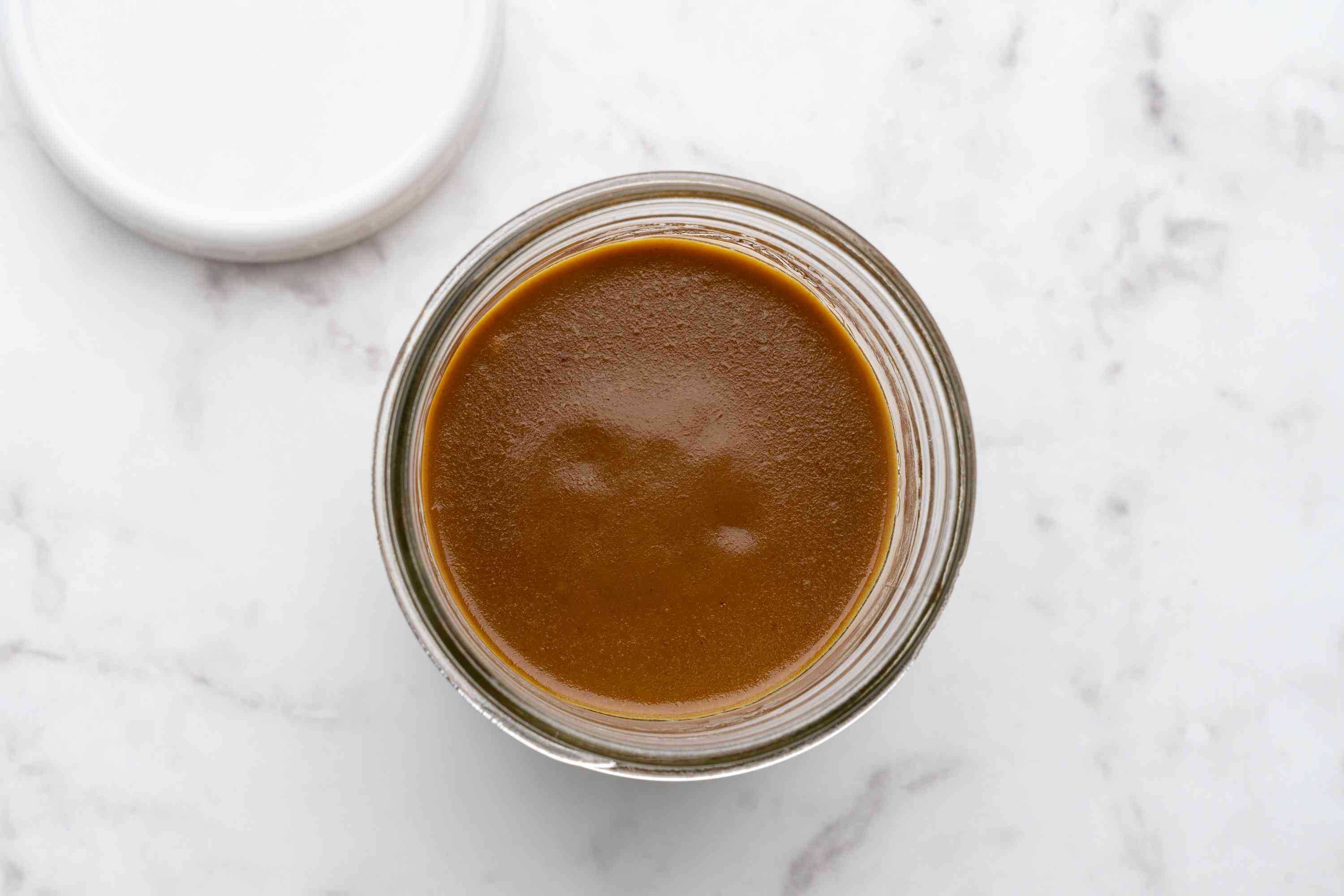 Mustard Barbecue Sauce in a jar