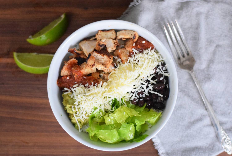 chipotle chicken burrito bowl
