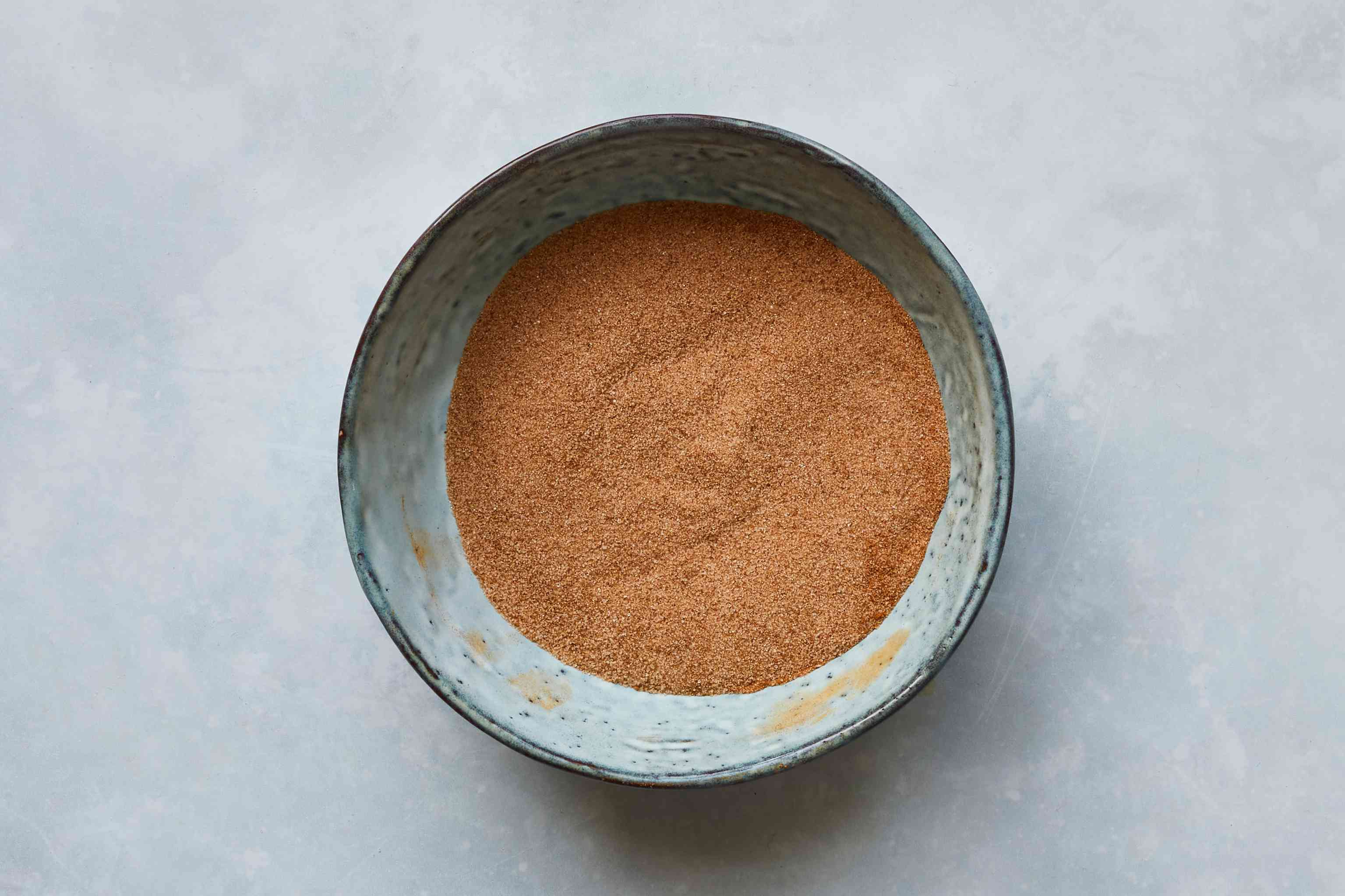 cinnamon and sugar in a bowl