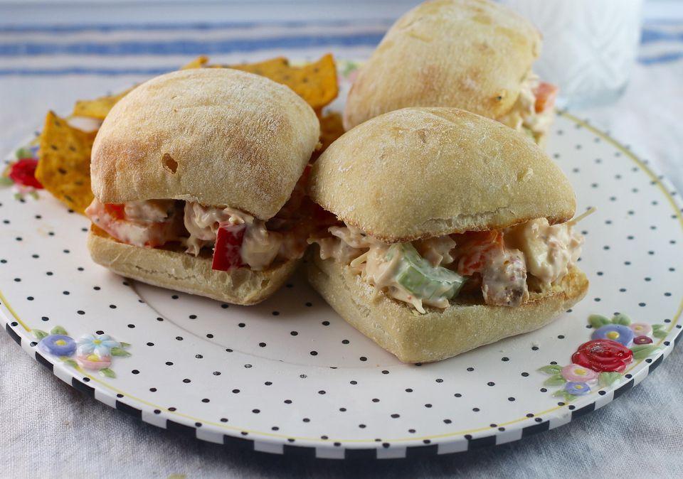 Crunchy Salmon Sandwich Spread