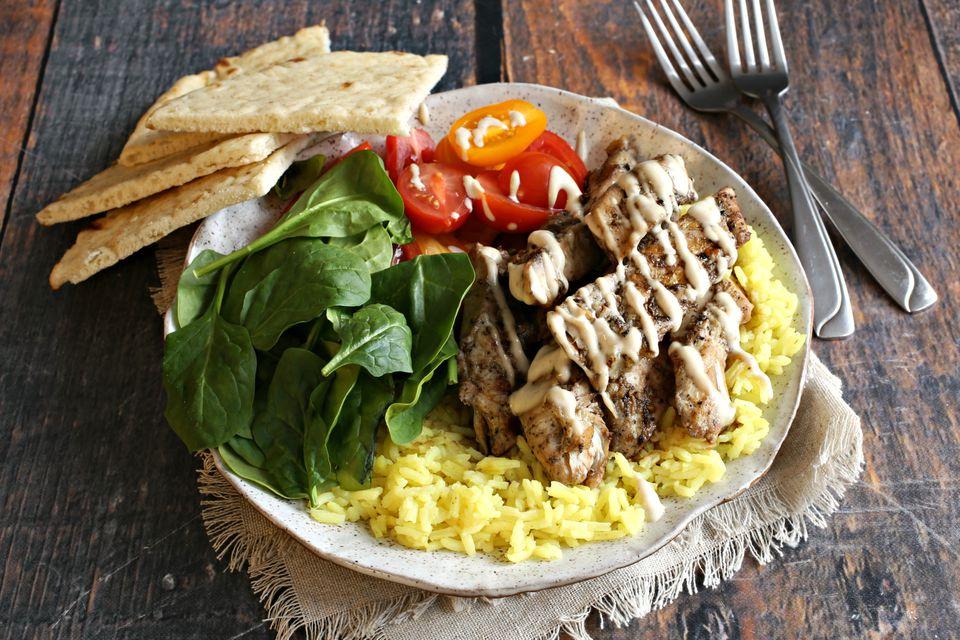 Halal Cart Chicken