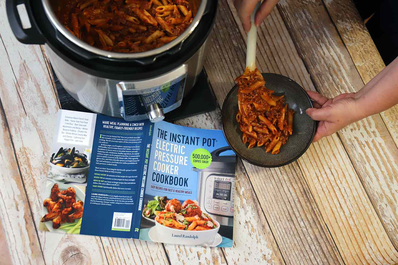 'The Instant Pot Electric Pressure Cooker Cookbook'