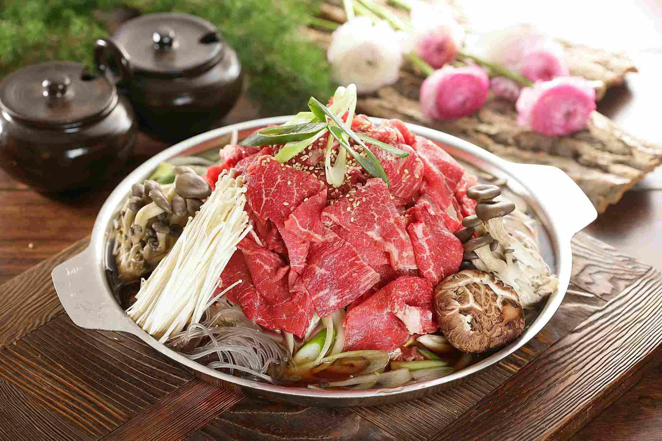 Bulgogi ingredients in a bowl